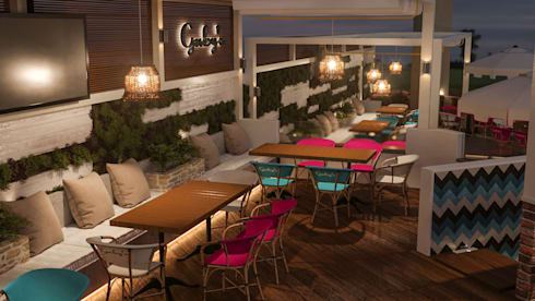 Gaby's North Coast:  Commercial Spaces by D-Studios