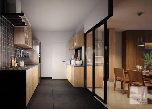 Expansion Kitchen:   by Stushio Design