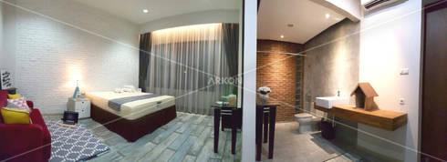 ARKON OFFICE: modern Bedroom by ARKON