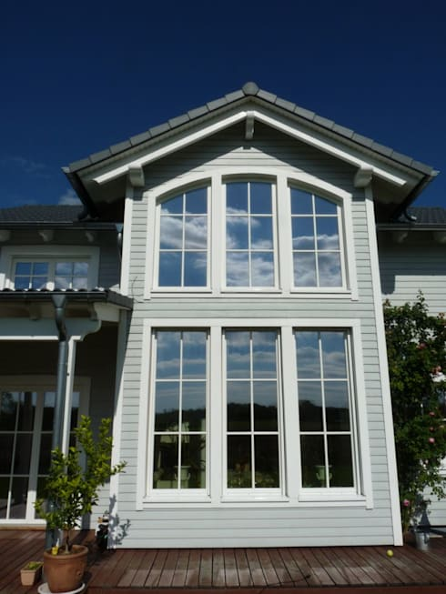 Holzhaus im amerikanischen Stil: Haus Georgia von Skan-Hus GmbH | homify