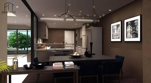 บ้านคุณหมอโอม จังหวัดกระบี่:   by Fit Design Studio