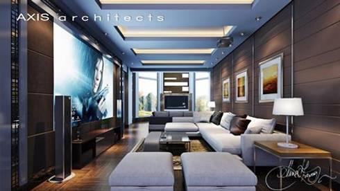 تنفيذ  Axis Architects for architecture and interior design