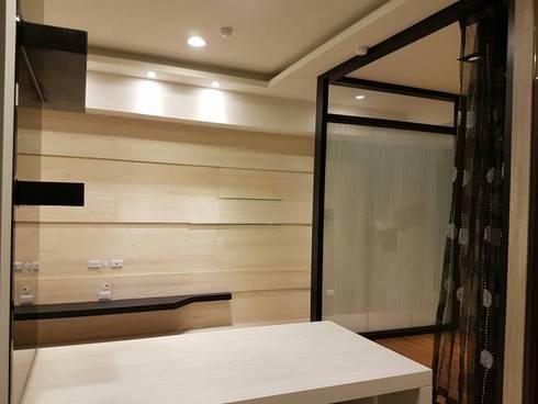 建商樣品屋設計裝潢:  餐廳 by 登品空間規劃工程有限公司