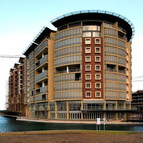 The Quays: modern Houses by Elphick Proome Architects