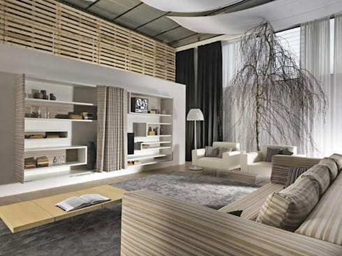 Interior Landscapes and its Value: modern Living room by Spacio Collections