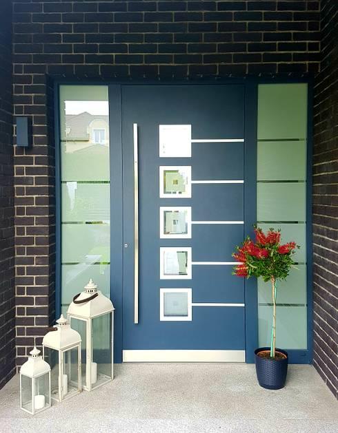 أبواب رئيسية تنفيذ RK Door Systems