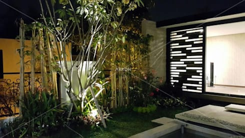 Emerlad Mansion, Lippo Cikarang Bekasi:  Pondok taman by ARKON