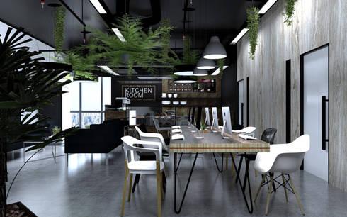 Coffee Cafe :  อาคารสำนักงาน by DD Double Design