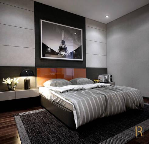 VILLA – VŨNG TÀU:  Phòng ngủ by REAL HOME VN