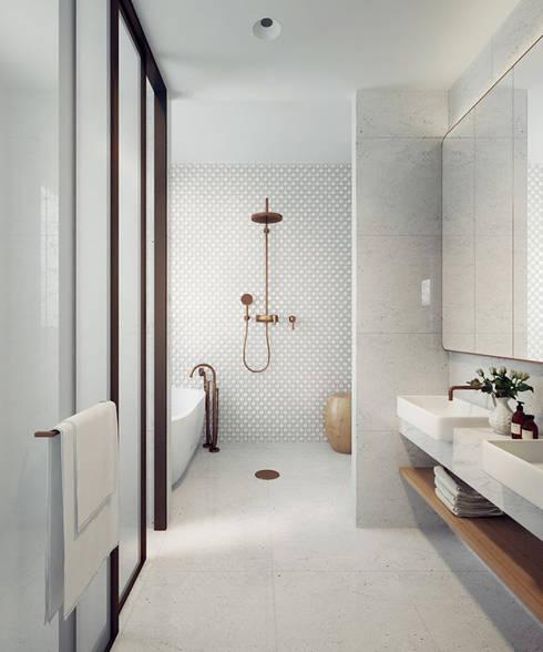 VILLA – VŨNG TÀU:  Phòng tắm by REAL HOME VN