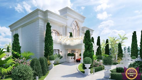   Architectural projects of Katrina Antonovich: classic Houses by Luxury Antonovich Design