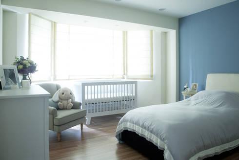 紐約家居 New York New York:  嬰兒/兒童房 by 瑄境設計 Xuan Jing