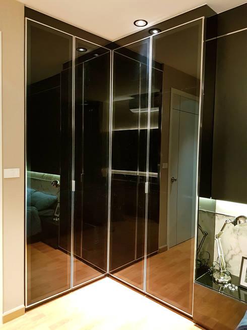 สไตล์โมเดิร์น:  ตกแต่งภายใน by Knock door interior design & decoration