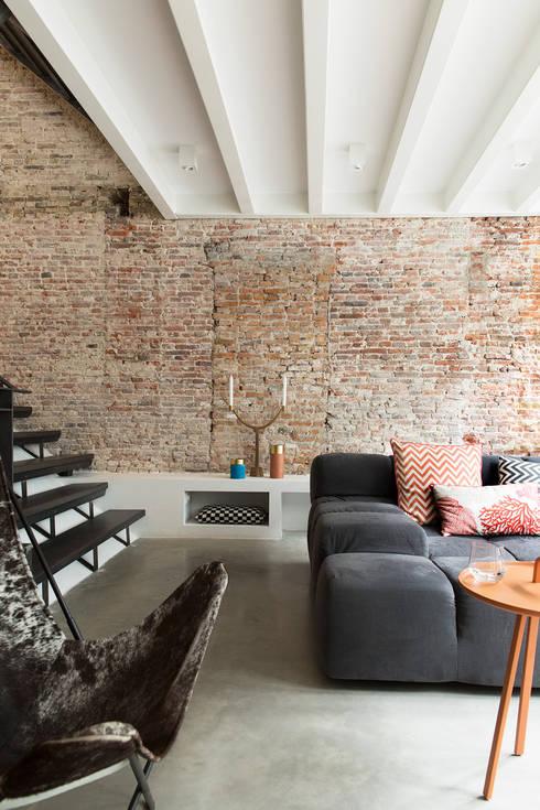 modern Living room by BNLA architecten