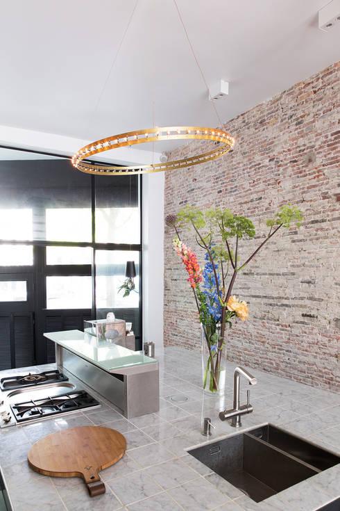 modern Kitchen by BNLA architecten