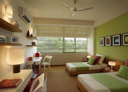 Living Room Curtains: asian Living room by The-MKC