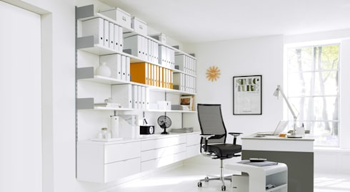 office shelving systems. ON-WALL - Office Shelving Systems: Minimalistic Living Room By Regalraum UK Systems M