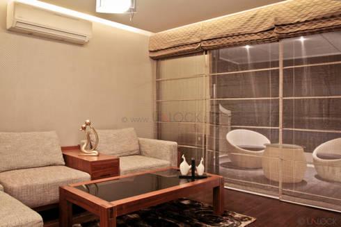 master bedroom lounge:  Terrace by UNLOCK ©™