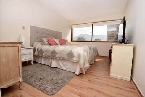 Remodelación Depto Floody: Dormitorios de estilo moderno por ARCOP Arquitectura & Construcción