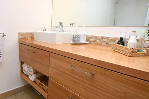 Remodelación Depto Floody: Baños de estilo moderno por ARCOP Arquitectura & Construcción