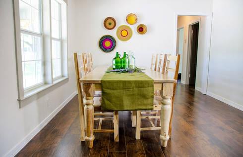 mediterranean Dining room by Noelia Ünik Designs