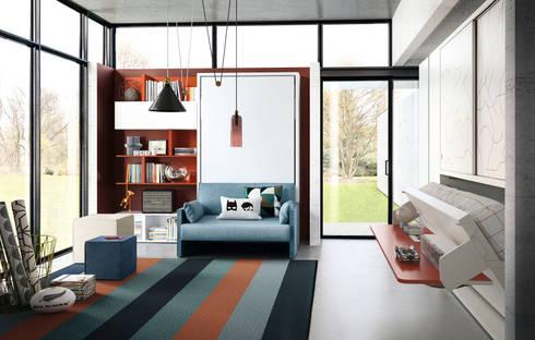 Kali Ponte Board 2200:  臥室 by Hefeng furniture