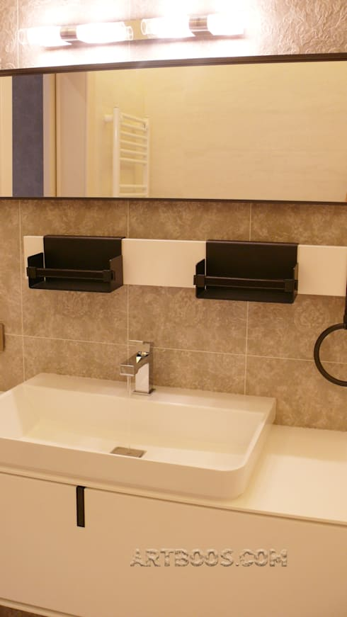 Ванная: Ванные комнаты в . Автор – Творческая мастерская АRTBOOS