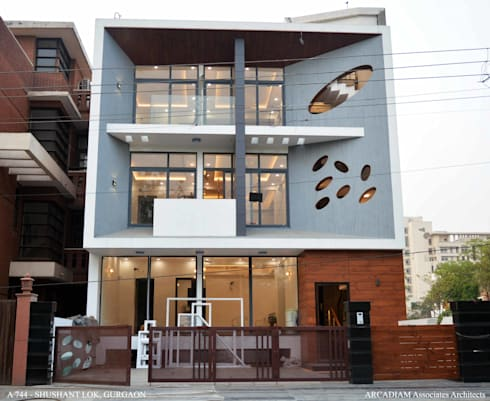 A-744:  Bungalows by M/s ARCADIAM Associates Architects