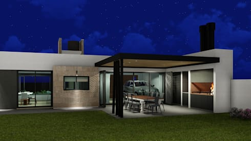 Patios & Decks by ARBOL Arquitectos