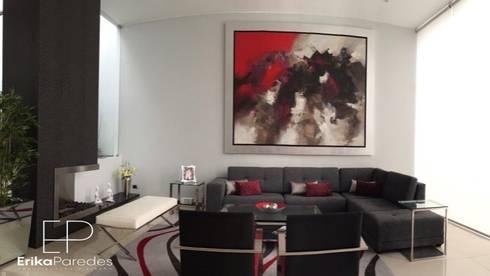 Detalle de Cuadro: Salas/Recibidores de estilo moderno por EPG  Studio