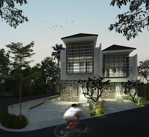 House 3:  Rumah keluarga besar by SEKALA Studio
