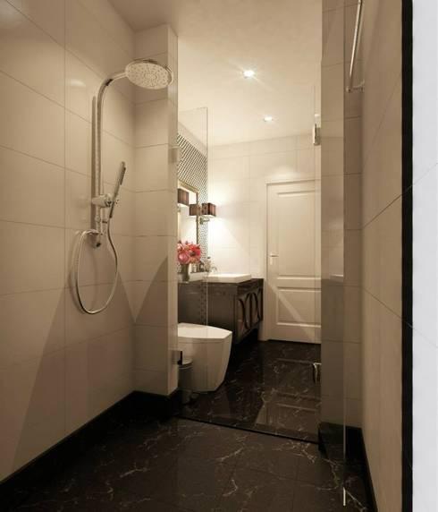 Sharon-Shaoho Bathroom Renovation 2013:   by LEE Interior Design & Built-in