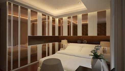 Apartment The Mansion:   by 7DESIGN ARCHITECT