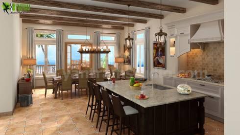 classic Kitchen by Yantram Architectural Design Studio