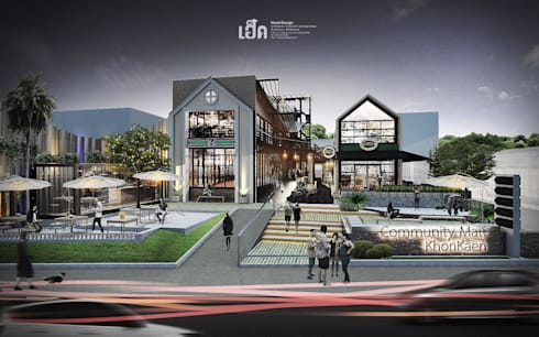 community mall Bueng Kaennakorn:   by HEAD DESIGN