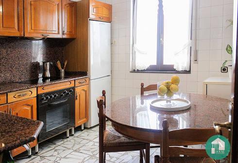 Cocina. Vista general después de Home Staging:  de estilo  por Fityourhouse AD & Home Staging
