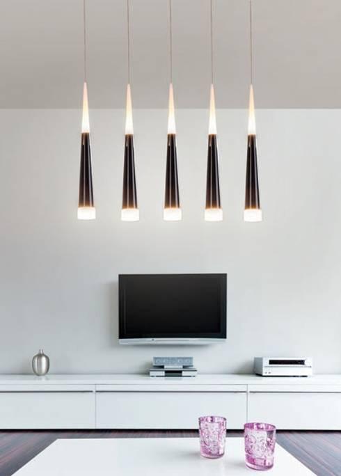 Lampa wisząca OSLO V: styl , w kategorii Salon zaprojektowany przez Mlamp