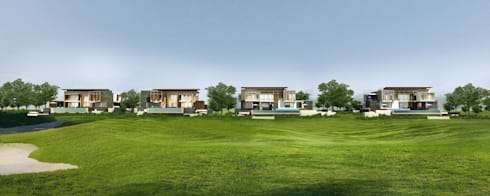Residential @ Lakeview Golf Club, Vientiane, Laos:   by zpacez