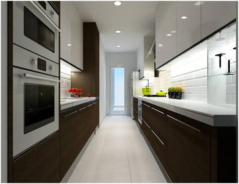 Kitchen:  Nhà bếp by Công ty TNHH TMDV Decor KT