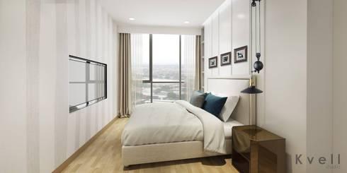 2 bedroom condominium unit at Sukhumvit 24:   by Kvell Studio