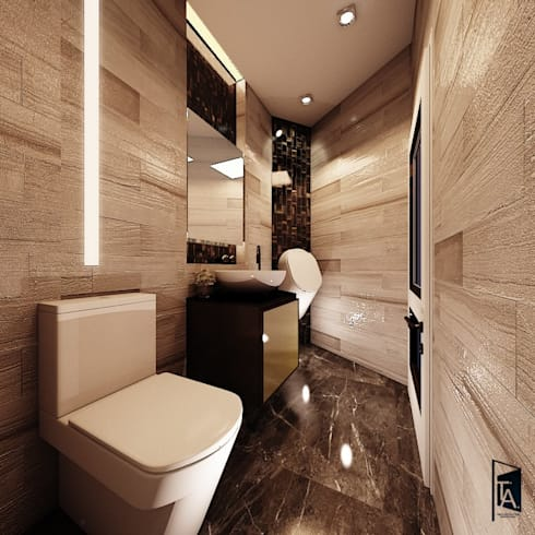 Interior design – Khun Max Residence :   by Time & Architecture design studio - T.A.