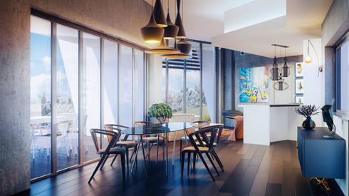 Casa Zen: Salas de estar modernas por CORE Architects