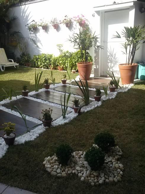 Jardines de estilo  por STUDIO ROCHA ARQUITETURA E DESIGN DE INTERIORES