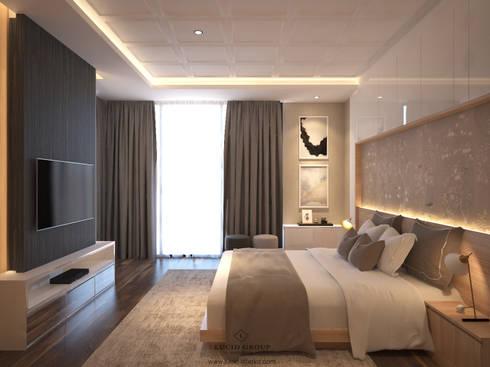 Grawisa Residence:  Bedroom by lucid interior