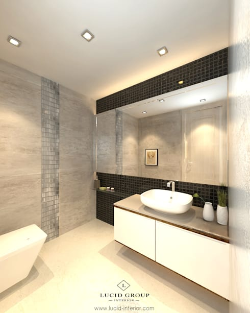 Grawisa Residence:  Bathroom by lucid interior