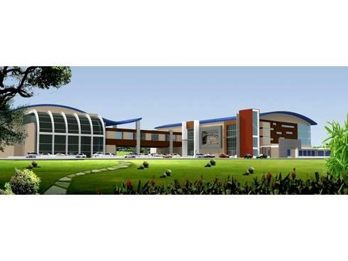 Sports Complex:  Stadiums by MRJ ASSOCIATES