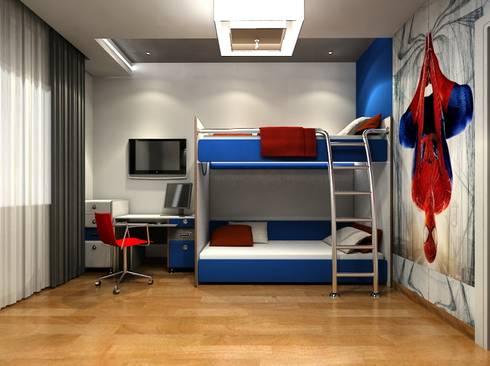 غرفة الاطفال تنفيذ  Axis Architects for architecture and interior design