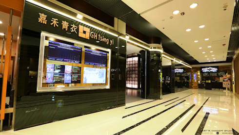 Golden Harvest Tsing Yi:  Commercial Spaces by Artta Concept Studio
