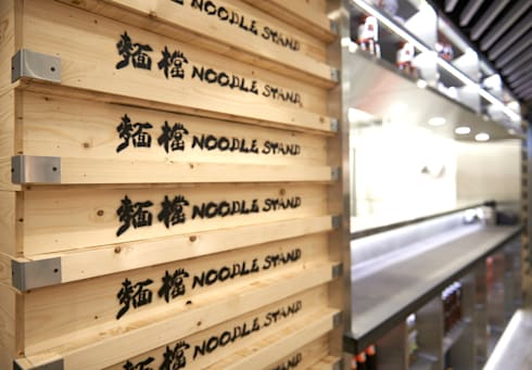 Noodle Stand:  Bars & clubs by Artta Concept Studio