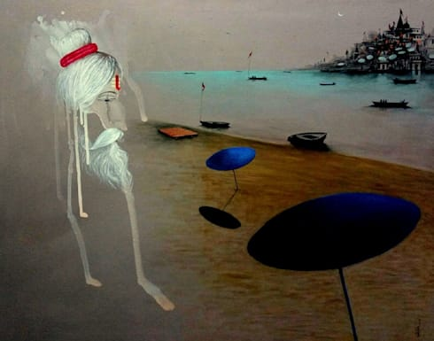 Creative Banaras:  Artwork by Indian Art Ideas